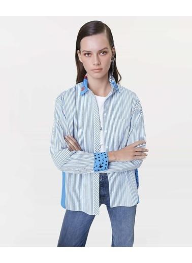 Ipekyol Gömlek Mavi